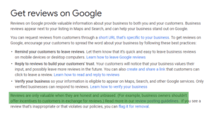 Google Review Solicitation Guidelines