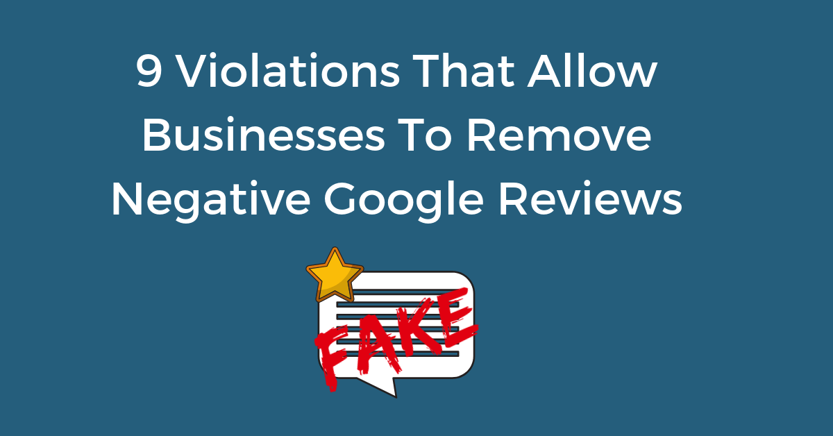 How to Remove Google Reviews