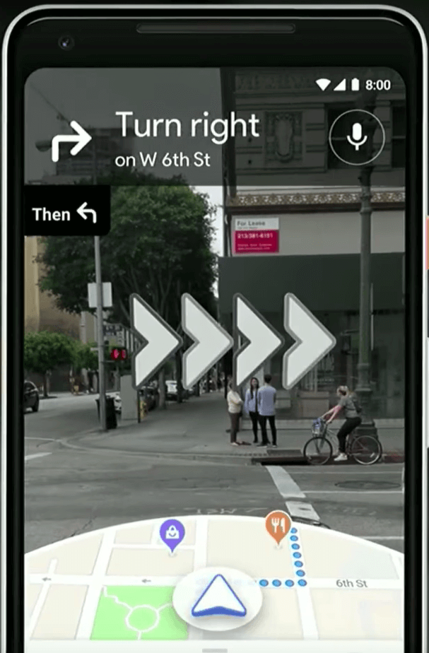 google maps updates - ar navigation 2