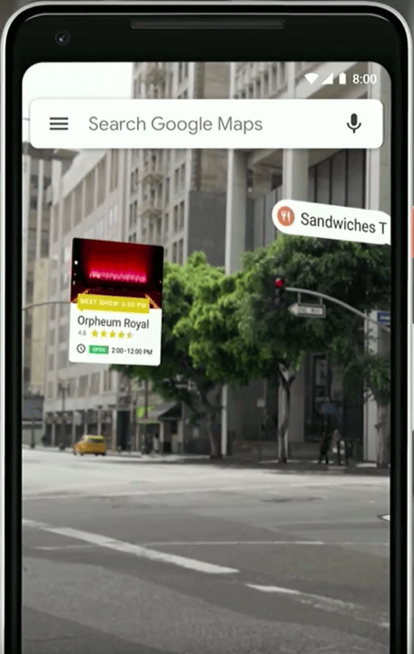 google maps updates - ar navigation