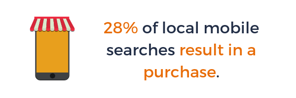 Mobile local SEO Stats