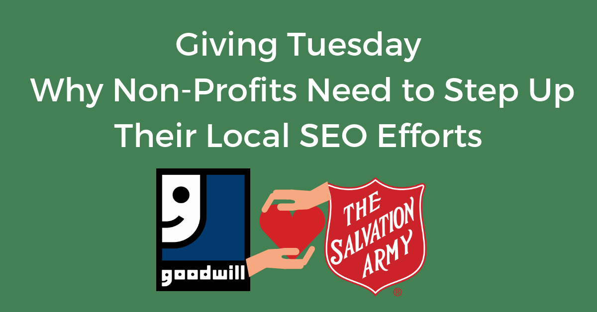 Goodwill vs Salvation Army Local SEO Efforts