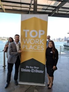 Chatmeter listed as San Diego's Union Tribune Best places to work