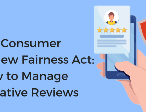 The Consumer Review Fairness Act: How to Manage Negative Reviews