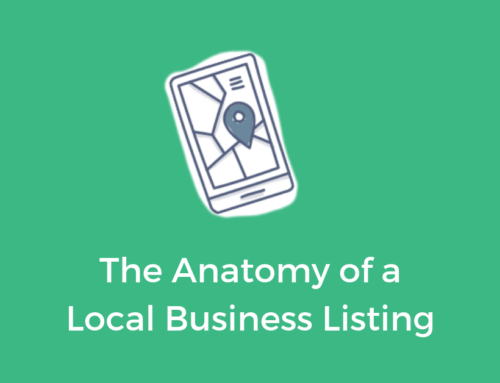 The Anatomy of a Local Business Listing