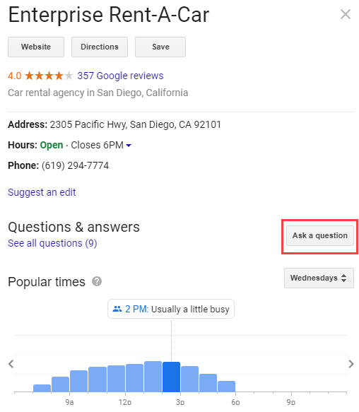 How to use Google Q&A