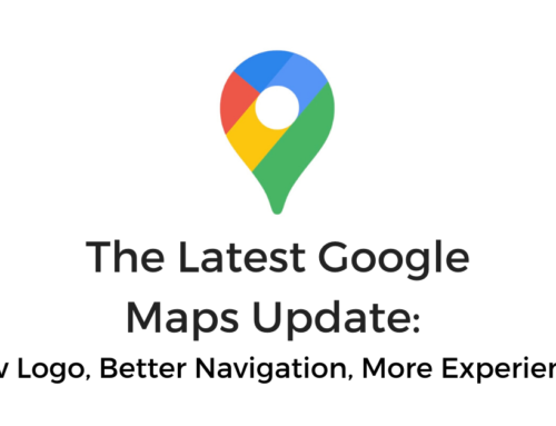 The Latest Google Maps Update: New Logo, Better Navigation, More Experiences