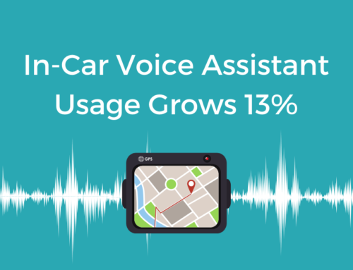 In-Car Voice Assistant Usage Grows 13%