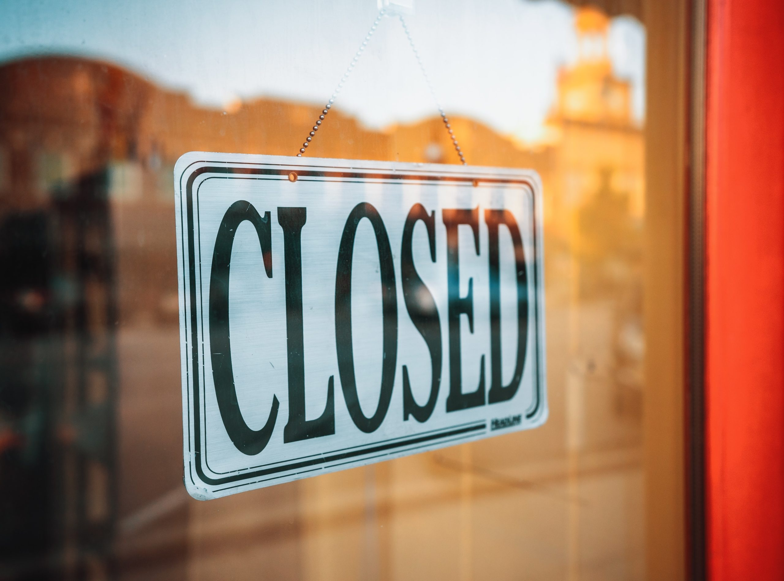 Business Closed Due to Coronavirus Outbreak