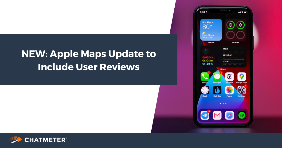 Newest Apple Maps Update includes Reviews