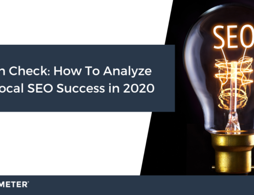 Health Check: How To Analyze your Local SEO Success in 2020