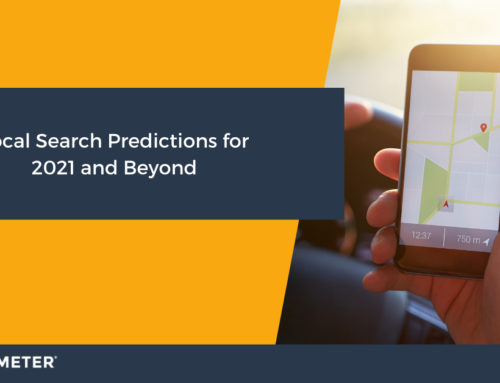 Local Search Predictions for 2021 and Beyond