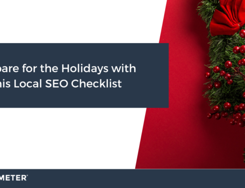 Prepare for the Holidays with this Local SEO Checklist