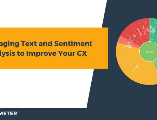 Leveraging Text and Sentiment Analysis to Improve Your CX