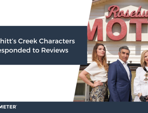 If Schitt's Creek Characters Responded to Reviews