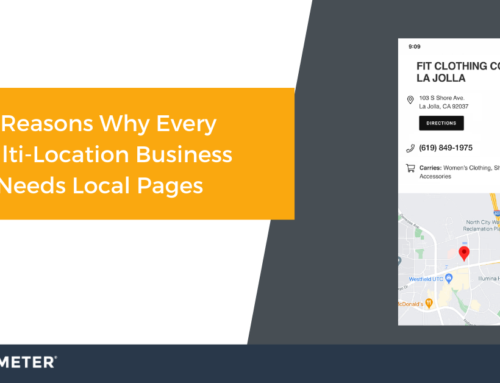 Three Reasons Why Every Multi-Location Business Needs Local Pages