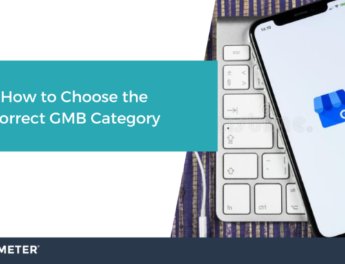 How to Choose the Correct GMB Category