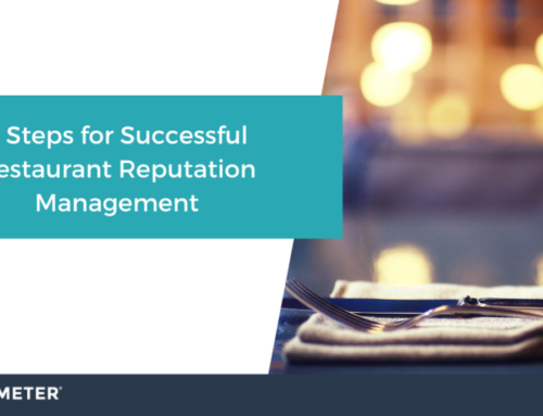 5 Steps for Successful Restaurant Reputation Management