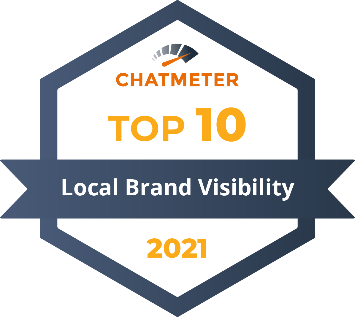TOP 10 Badge - Local Brand Visibility