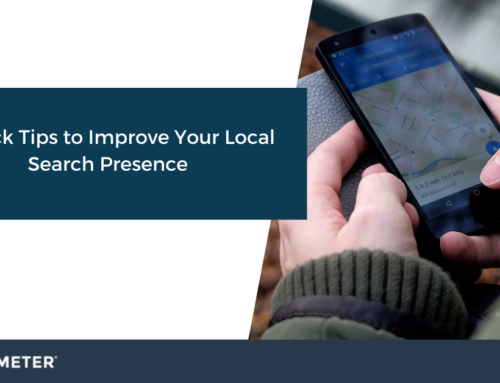 5 Quick Tips to Improve Your Local Search Presence